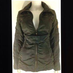 💋Bershka BSK Outerwear Insulated Military Jacket